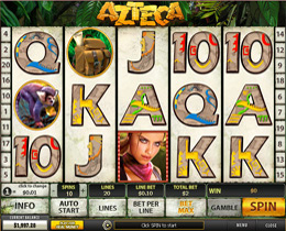 Azteca Slot Main Screenshot