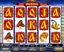 From Russia With Love Slot - Playtech