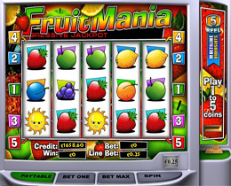 Fruit Mania Slot - Playtech