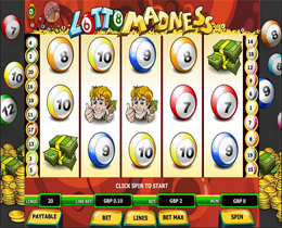 Lotto Madness Slot Main Screenshot